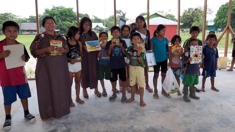 Geschenke für die Kinder von Pampas Verde im Herbst 2015