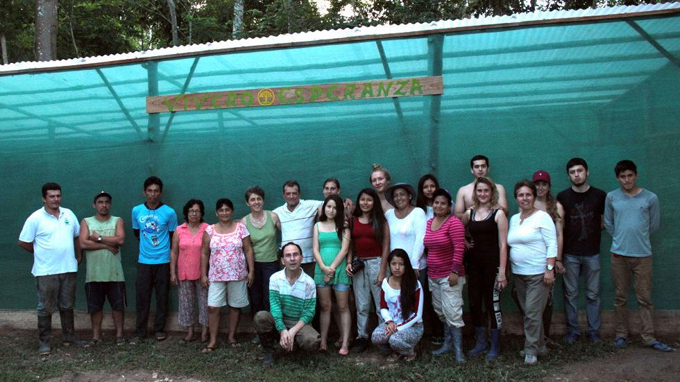 """""""Vivero Esperanza"""": das neue Gewächshaus von Panguana"""